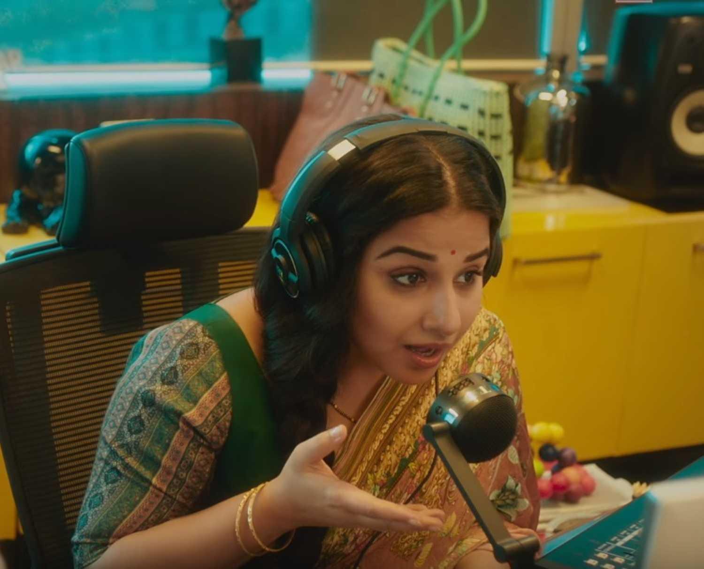 Tumhari Sulu Teaser Vidya Balan Gets Her Sexy Voice On -6268