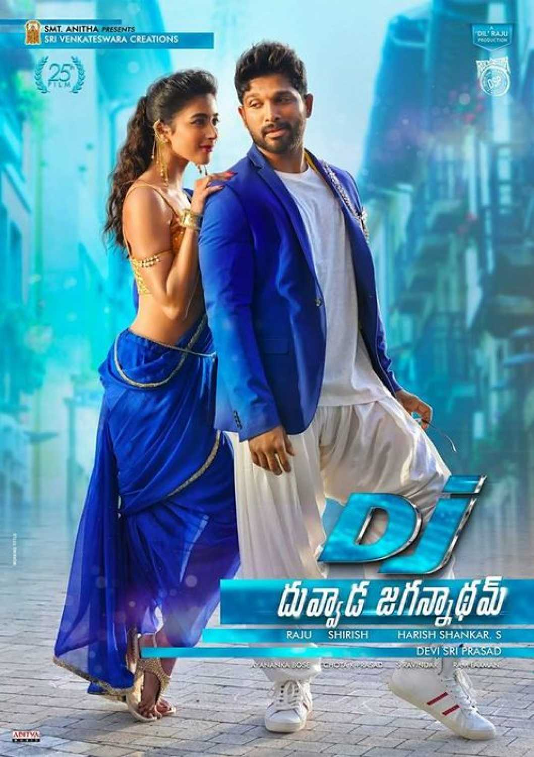 Dj Duvvada Jagannadham 2017 HDRip 720p 800MB [Hindi – Telugu] ESubs MKV