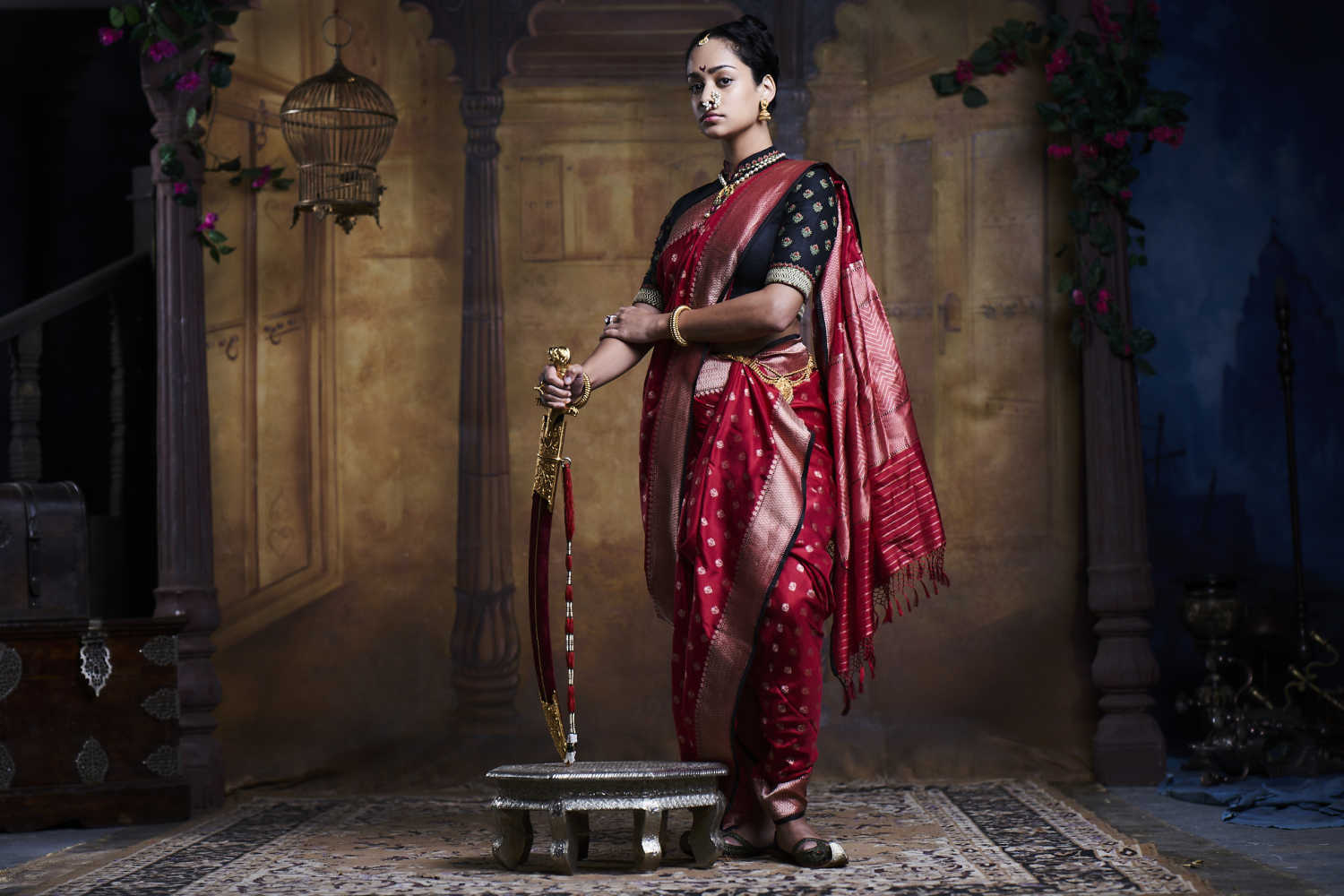 50 Sarees Arrive For Rani Laxmibai In Swords And Sceptres