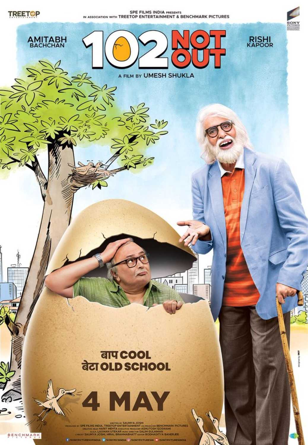 102 Not Out (2018) Hindi Full Movie HDRip || 720p 1.4GB, 480p 700MB, 360p 400MB || Download or Watch Online