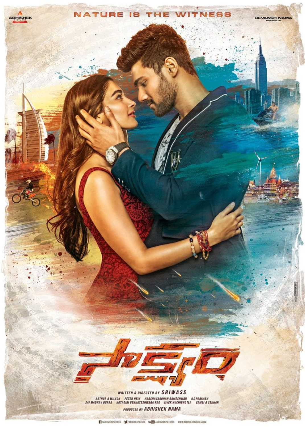 Saakshyam (2018) Telugu Proper HDTV-Rip – 480P | 720P – x264 – 700MB । 1.4GB – Download With Bangla Subtitle
