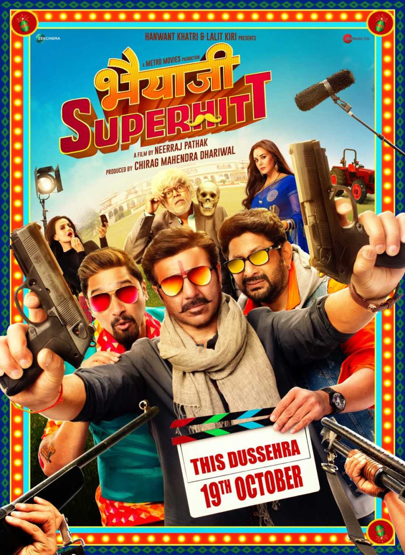 Bhaiaji Superhit (2018) 480p + 720p  WEB-DL x264 AAC Hindi 400MB + 1.00GB [Gdrive]