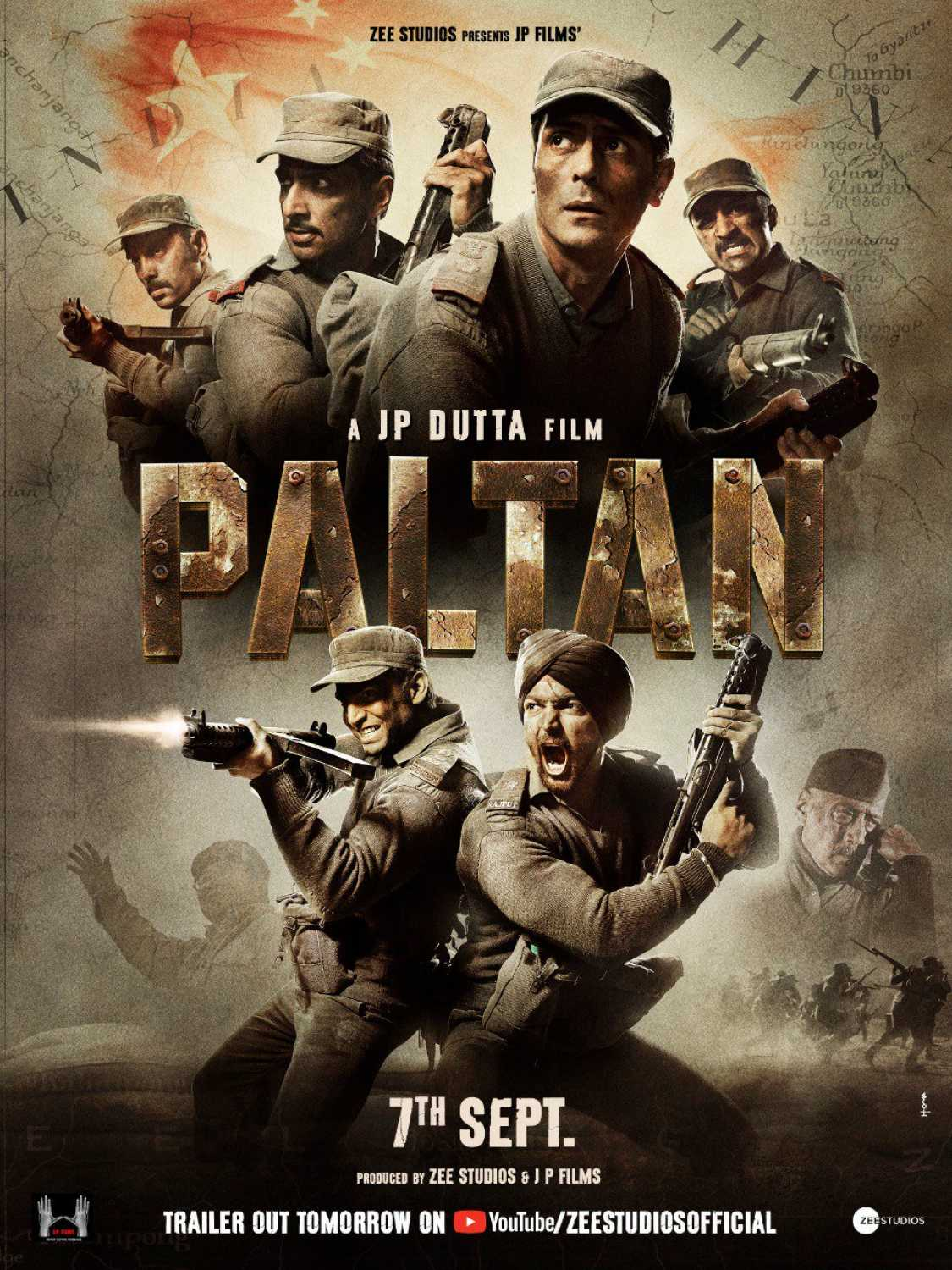 Paltan (2018) - Review, Star Cast, News, Photos | Cinestaan