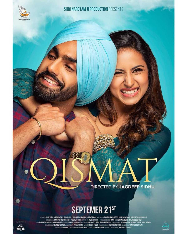 Maninder Buttar 2018 All Mp3song Download: Qismat (2018) - Review, Star Cast, News, Photos