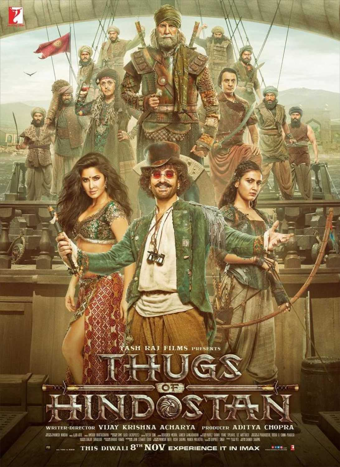 Thugs of Hindostan Download And Watch Online Full Movie HQ