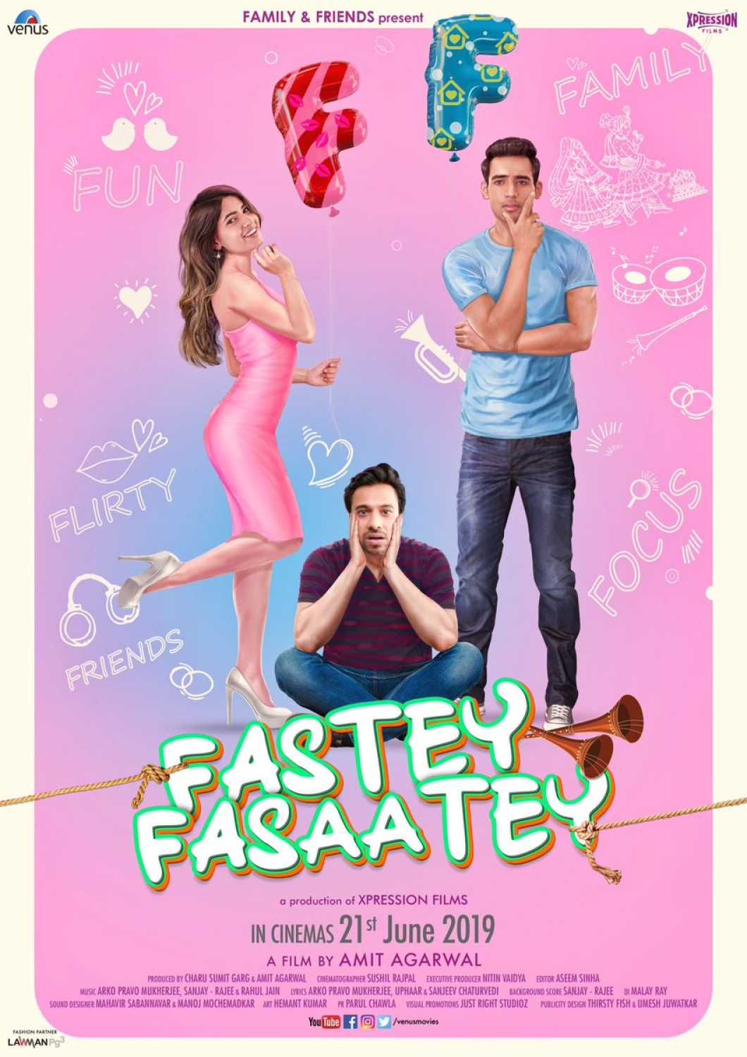Fastey Fasaatey (2019) - Review, Star Cast, News, Photos