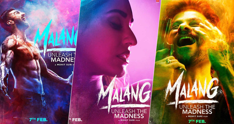 Malang Posters Aditya Roy Kapur Disha Patani Anil Kapoor Look Intense