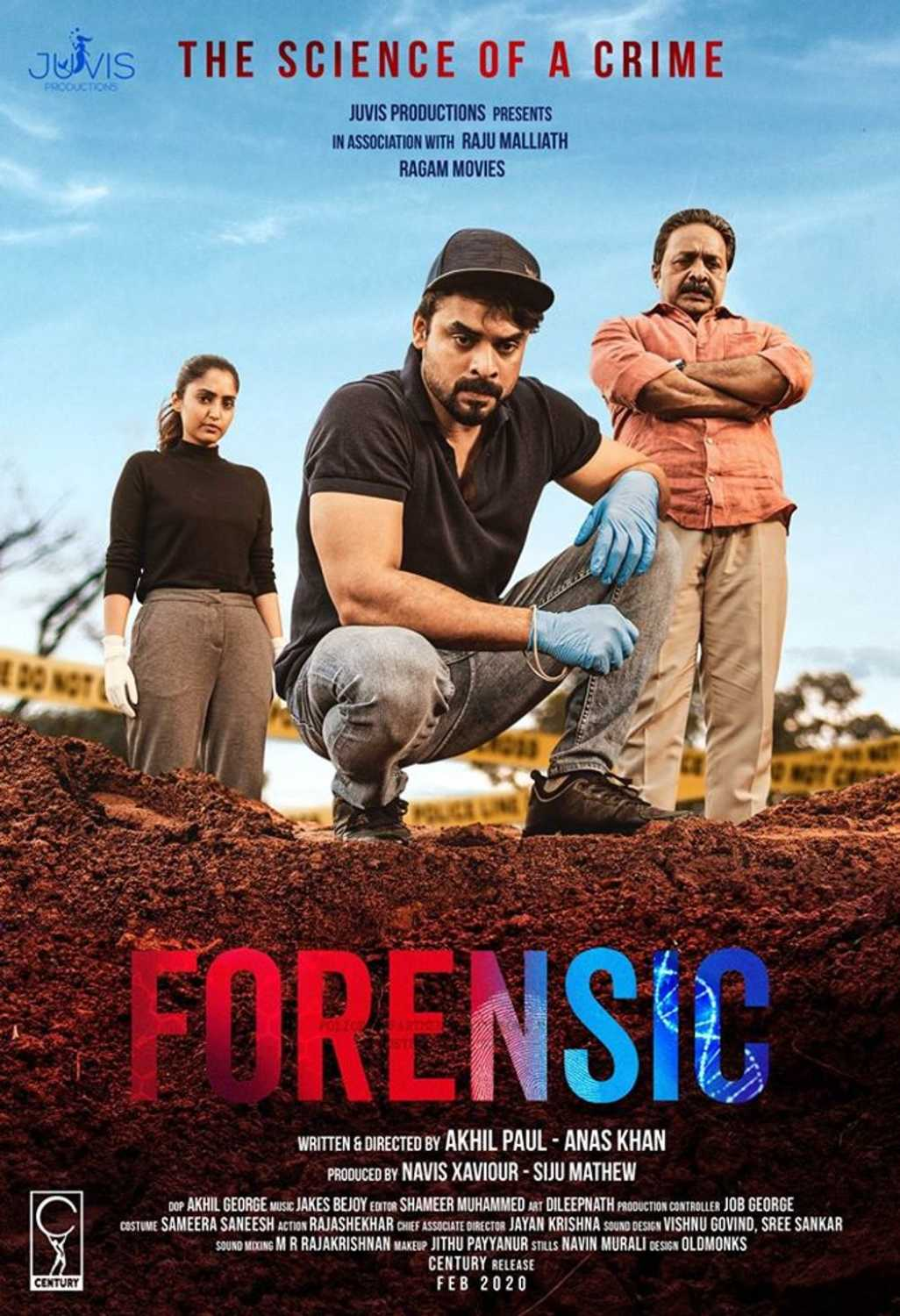Forensic (2020) UNCUT 1080p | 720p | 480p WEB-HDRip [Dual Audio] [Hindi ORG DD 2.0 – Malayalam] x264