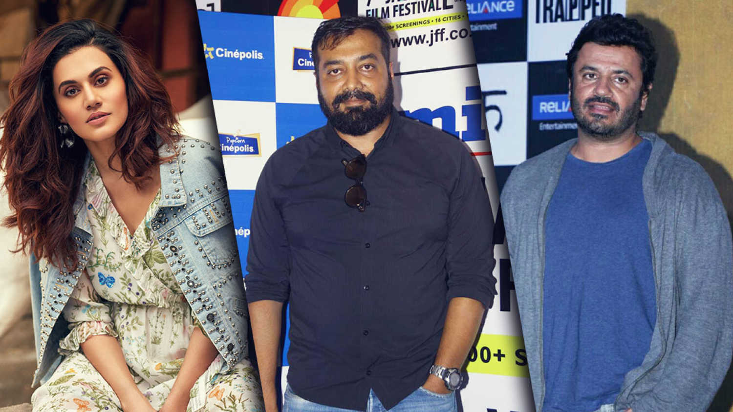 Income tax officials raid Taapsee Pannu, Anurag Kashyap and Vikas Bahl's residences