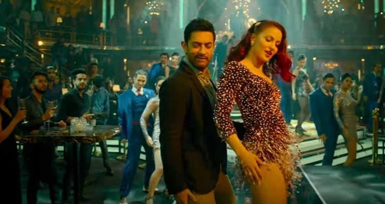 Koi Jaane Na song 'Har Funn Maula': Aamir Khan matches steps with acrobatic Elli Avram