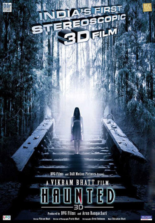 Haunted 2011 Hindi 720p HDRip x264 AC3 – Hon3y   3 GB  