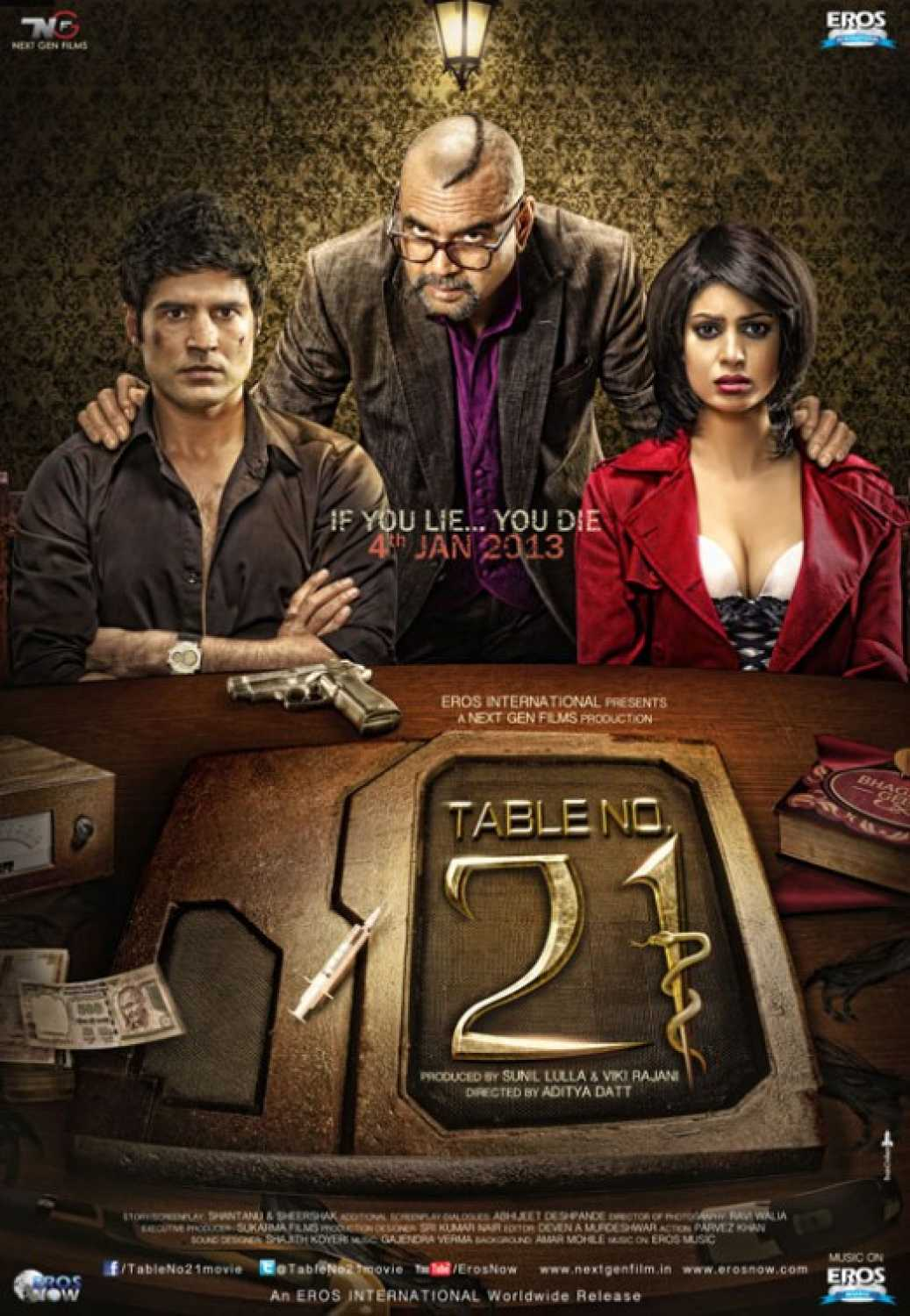 Table No.21 (2013) - Review, Star Cast, News, Photos | Cinestaan