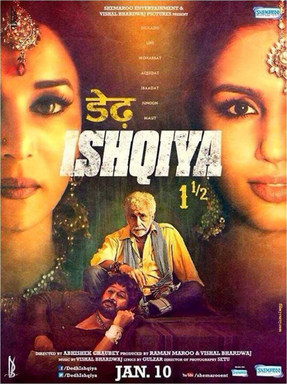 Dedh Ishqiya 2014 Hindi Full 480p Movie BluRay ESub 500MB Download