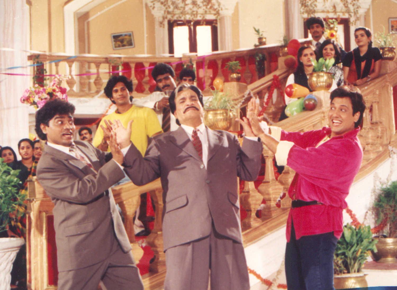 5 classic comedy scenes by Johnny Lever, Govinda, Kader Khan
