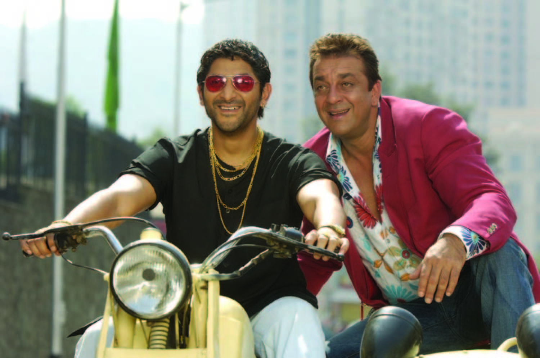 Image result for Sanjay Dutt's Munna Bhai