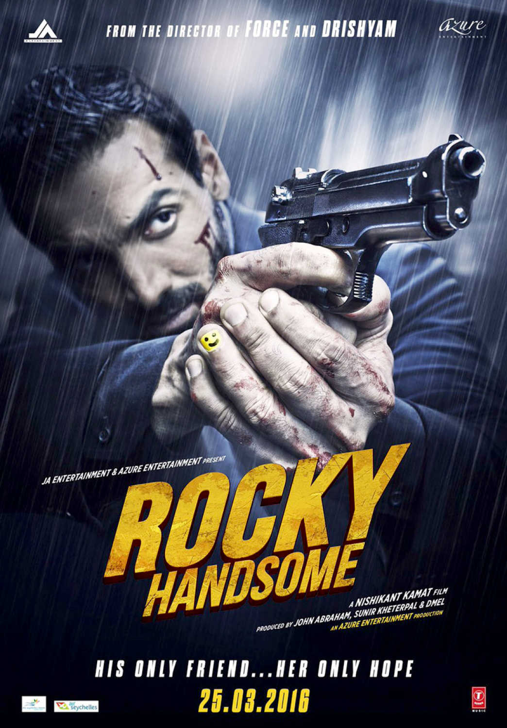 Rocky Handsome (2016) - Review, Star Cast, News, Photos | Cinestaan