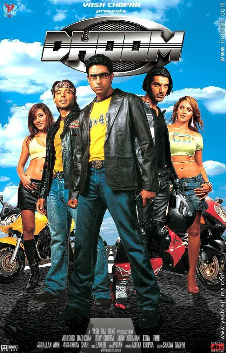 Dhoom | 2004 | Hindi | 1080p | 720p | BRRip