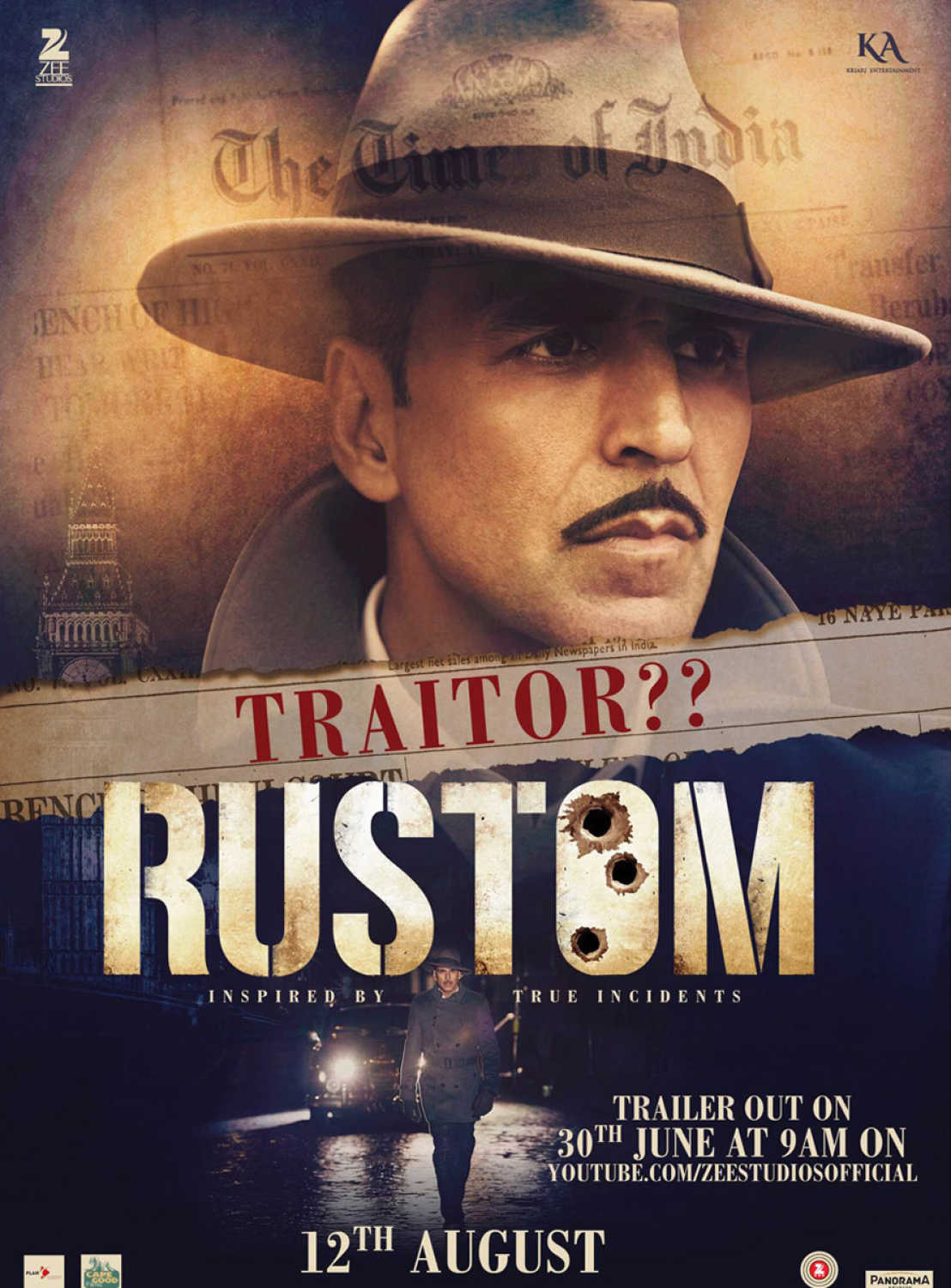 Rustom (2016) - Review, Star Cast, News, Photos | Cinestaan
