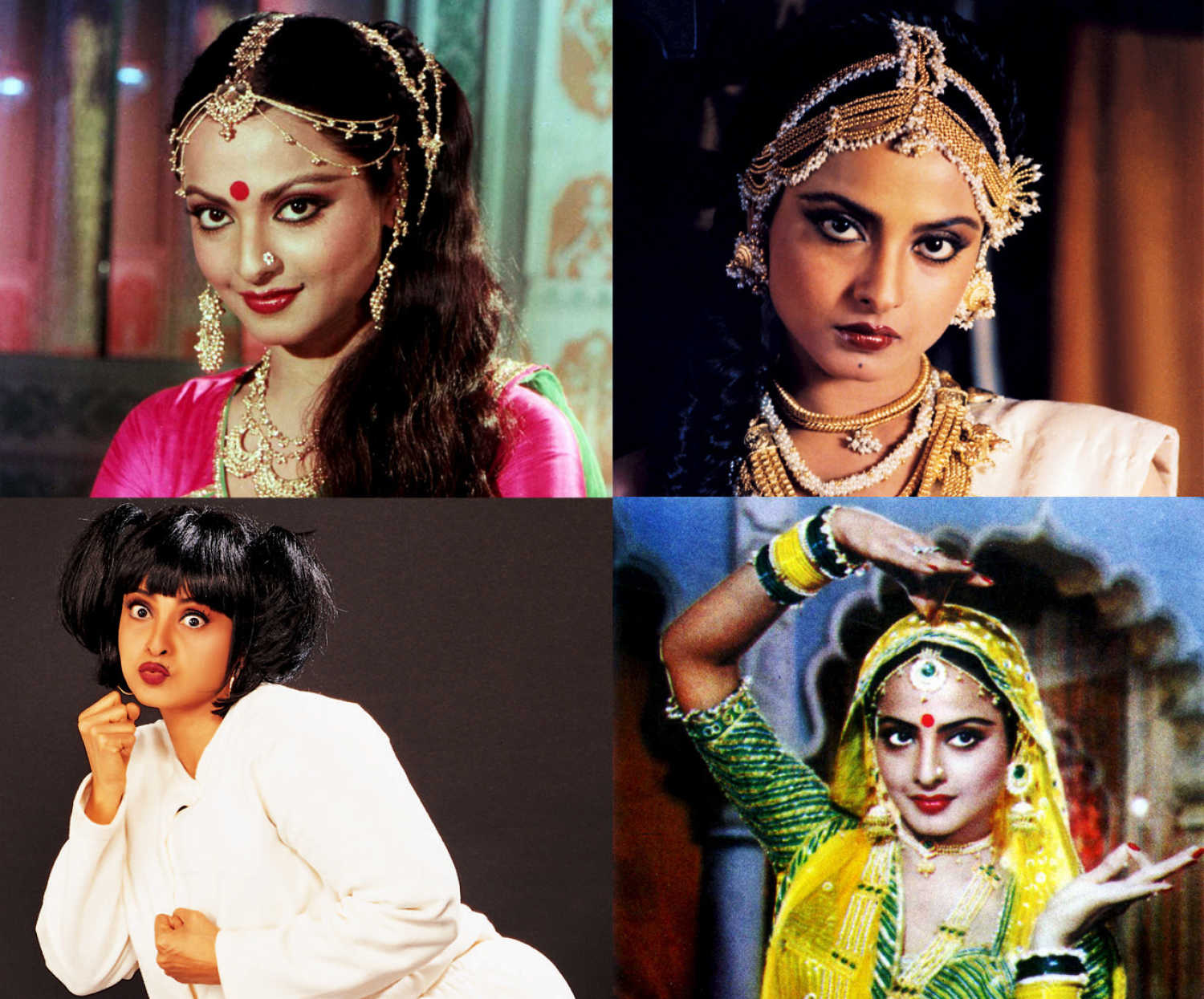 Rekha Family Childhood Photos Actress: Gems From Biography: 18 Things You Didn't Know About Rekha