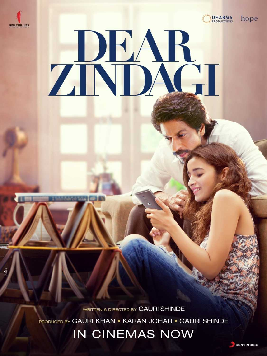Dear Zindagi 2016 Hindi DVDRip 720p 1.5GB AAC 5.1 MKV