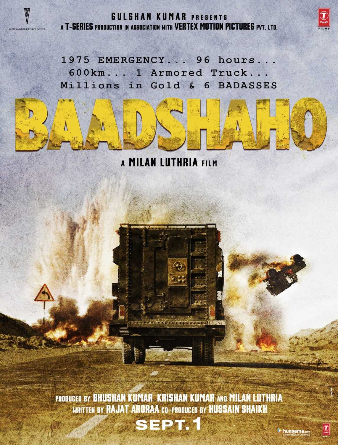 Baadshaho poster: Set during Emergency, Ajay Devgn film