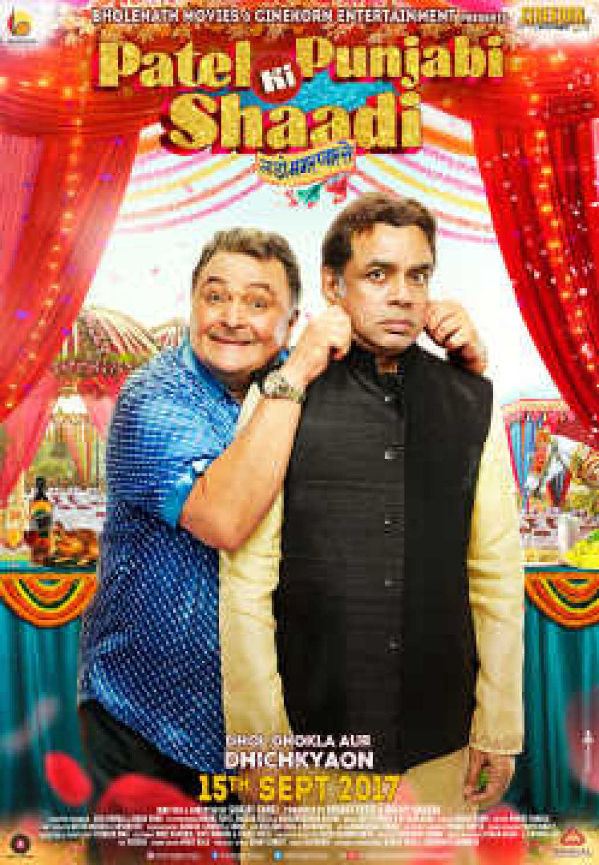 Patel Ki Punjabi Shaadi poster: Rishi Kapoor, Paresh Rawal trying to ...