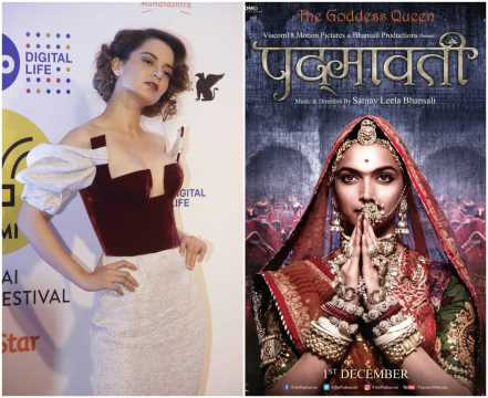 Kangana refuses to sign petition supporting Deepika for Padmavati