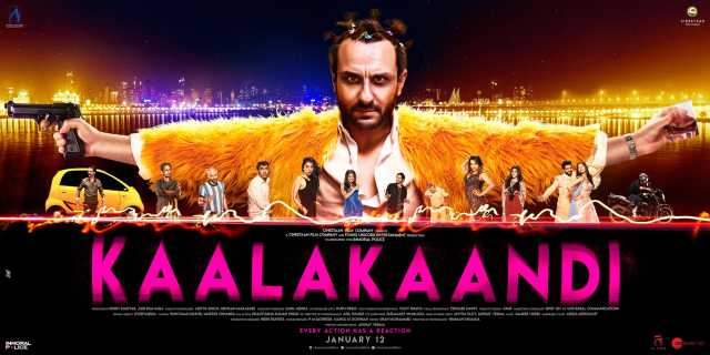 Kaalakaandi: The Teaser Poster Out With Saif In A Mysterious Avatar