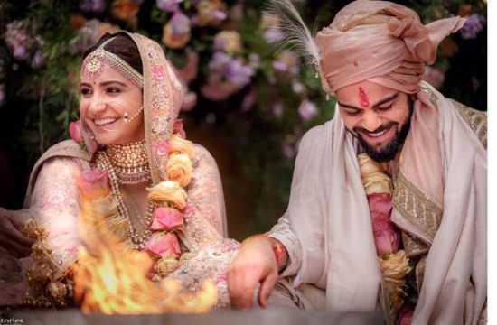 See Pics: Virat Kohli, Anushka Sharma tie the knot in Italy