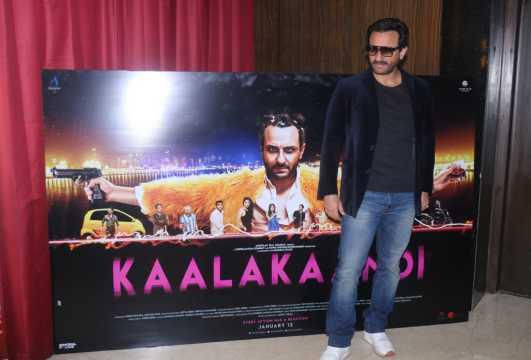 Saif Ali Khan and team launch Swagpur ka Chaudhury song from Kaalakaandi