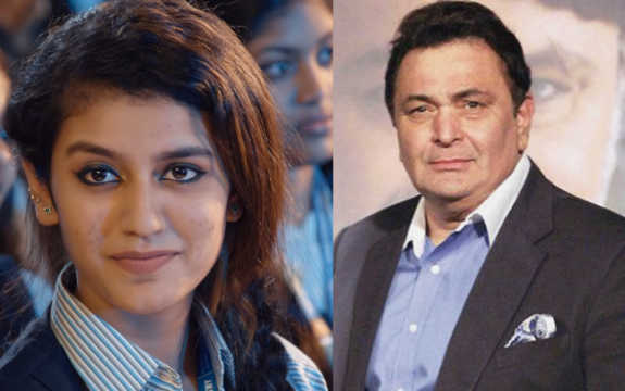 Impressed Rishi Kapoor predicts 'huge stardom' for Priya Prakash Varrier