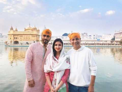 Arjun Kapoor shoots Amritsar schedule with Parineeti Chopra for 'Namastey England'