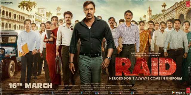 Ajay Devgn's Raid passes Monday test, earns Rs6.25 crore