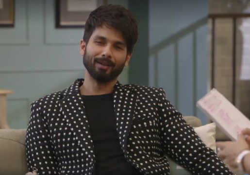 Shahid Kapoor and Mira Rajput return from a casual outing