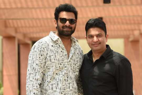 Bhushan Kumar and Prabhas come together