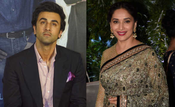 Madhuri Dixit says her chemistry with Ranbir Kapoor is flawless