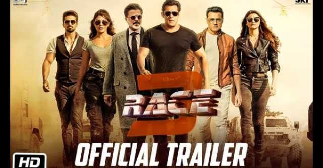 Trailer of Salman starrer Race 3 out
