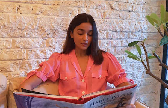 Alia Bhatt reads out Chapter 8 of Harry Potter for fans