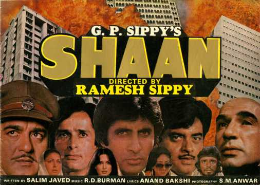 shaan 1980 movie trailers making of the film amp songs